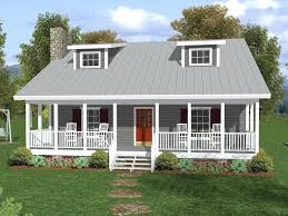 one and a half story home with deep covered porch twin dormers 1 2 bungalow house