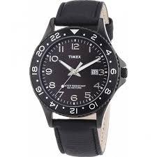 shop men s timex t2p176 watch british watch company men 039 s all black watch
