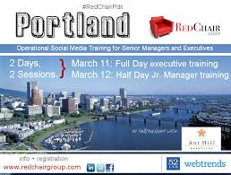 red chair press. Red Chair Press For Best PDX Social Media Training Managers And Executives