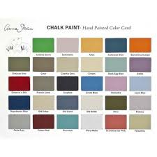 painted furniture colors. annie sloan chalk paint color card royal design studio painted furniture colors