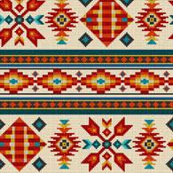 Southwest Pattern Best Dancing Bear Indian Trader Beads Bells And Buckskin
