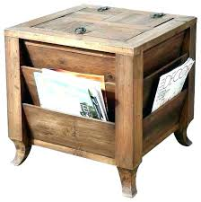 small accent table with storage side end tables white