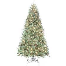 St. Nicholas Square 7-ft. Pine Pre-Lit Artificial Christmas Tree