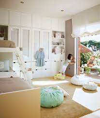 kids bedrooms for two. Beautiful Kids Beige And Mint Green Kidsu0027 Bedroom For Two  Kidsomania Intended Kids Bedrooms E