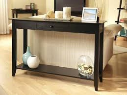 black console table with storage. Black Console Table With Drawers Classic Design Decoration And Additional Storage D