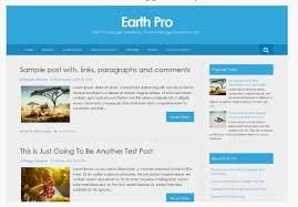 Blogger Templates 2020 Free Templates Earth Pro Blogger Template Responsive Blogger