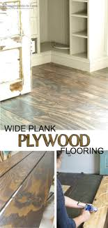 diy flooring projects diy plywood floors floor ideas for those on a budget