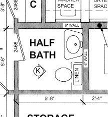 Bathroom Floor Plan Small Half Bathroom Floor Plans Google Search Tapas Sports Bar