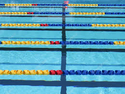 swimming pool lane lines background. Lane Rope Background \u2014 Stock Photo Swimming Pool Lines