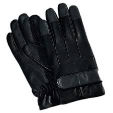 fioretto men s sleek design leather driving gloves with velcro strap loading