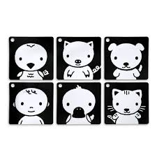 black and white pictures for babies printable black white red infant stim clip along flash cards