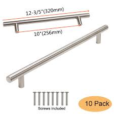 Gobrico Gb201hss256 Kitchen T Bar Cabinet Handle Pull For Furniture