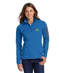 Eddie Bauer Womens Jacket Size Chart Eddie Bauer Eb235 Ladies 1 2 Zip Fleece Jacket For Women