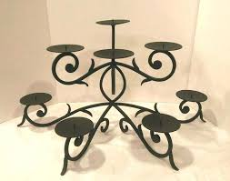candle holders for fireplaces pottery barn gypsy fireplace candle holder candelabra sold out wrought iron candle