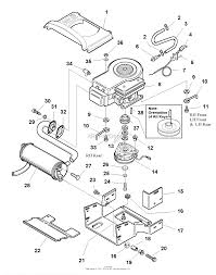 Briggs stratton engine parts diagram inspirational simplicity 517h 17hp hydro and 40 quot mower deck parts