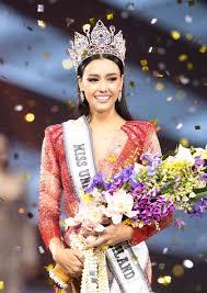 Miss Universe Thailand 2020 is Amanda Obdam