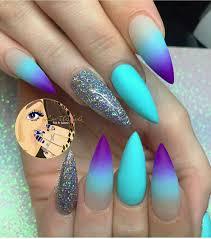 Meerjungfrau Blue | Nails *-* | Pinterest | Nail nail, Makeup and ...