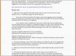 Resume Summary Examples Entry Level Interesting Resume Summary Examples Entry Level It Resume Summary Download