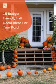 15 Pocket-Friendly Lovely Ideas for Your Fall Porch Decor in 2020 | Fall  decorations porch, Porch decorating, Fall porch