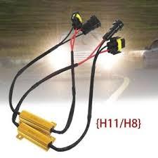 1pc h8 h11 50w led can fog load resistors error wiring harness image is loading 1pc h8 h11 50w led can fog load