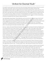 wilfred owen s poetry year hsc english standard thinkswap wilfred owen s poetry