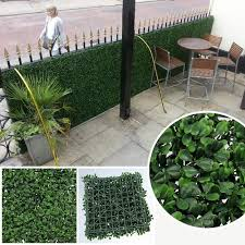 boxwood artificial fence 12pcs 50x50cm outdoor artificial plant boxwood panel for house garden decoration g0602a001a 1