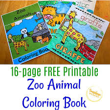 Check out free zoo coloring sheets to print below. Free Printable Zoo Animal Coloring Book For Kids