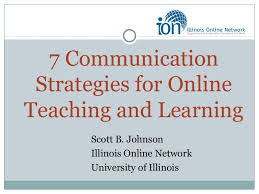 communication strategies for online teaching and learning gact