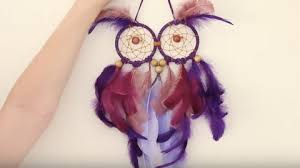 Dream CatchersCom Fascinating Cutest DIY Owl Dream Catcher Ever