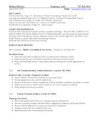 Financial Planner Resume Objective Examples Elegant Cover Letter