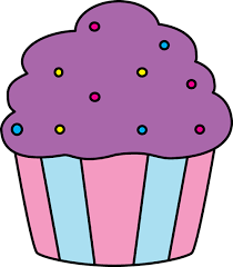 cute cupcake clipart. Unique Clipart Purple Cupcake With Sprinkles For Cute Clipart C