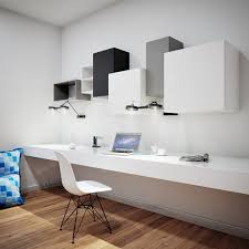 wall mounted office. Wall Hung Office Deskchic Home With Long Narrow Mount Desk Idea Plus Wood Mounted C