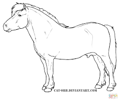 Small Picture Cute Shetland Pony coloring page Free Printable Coloring Pages