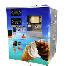 Mobile Ice Vending Machines Adorable Coin Operated Ice Cream Vending Machine Selfservice Counter