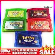 Thẻ Chơi Game Pokemon Cao Cấp Dành Cho Gba
