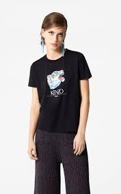T Shirt Tiger Head Kapsel Kollektion Go Tigers Outlet Kenzo