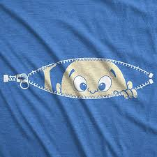 Maternity Baby Peeking T Shirt