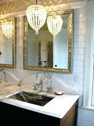 vibrant idea small chandeliers for bathroom nobby design bathrooms crystal chandelier awesome the best ideas master