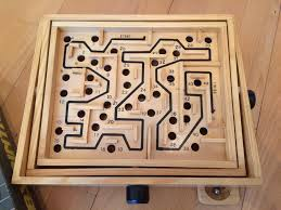 Wooden Maze Games Wooden maze game in St Helens Merseyside Gumtree 100