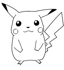 Pokemon Coloring Pages Pikachu Cute Cute Baby Coloring Pages