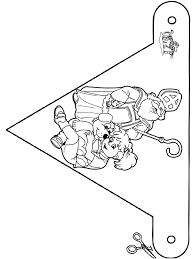 Sinterklaas En Zwarte Piet Kleurplaten Nl Zwarte Piet Kleurplaat