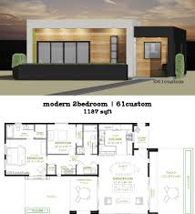 You Are Here Home Modern House Plans Modern 2 Bedroom House Plan