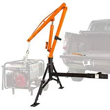 Amazon.com: Apex Hydraulic Hitch-Mount Pickup Truck 1,000 lb Jib ...