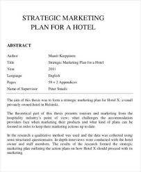 20 Hotel Marketing Plan Tips And Examples Pdf Examples