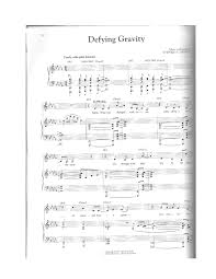 defying gravity sheet music wicked defying gravity solo pdf docdroid