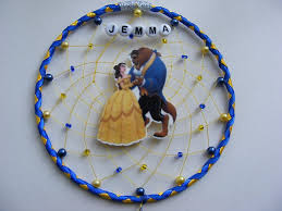 Personalized Dream Catchers Inspired by Beauty and the Beast Personalised Dream catcher Belle 86