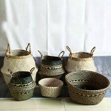 <b>Корзина</b> для хранения из ротанга <b>корзины</b> для декора ...