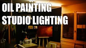 artists studio lighting. Oil Painting Studio Lighting : 10 Tips To Have Good Light Conditions For - YouTube Artists