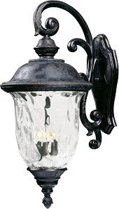 Carriage House Lighting Wholesale Maxim 40498wgob Carriage House Vx 3 Light Outdoor Wall