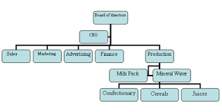 Organizational Structure Small Online Charts Collection